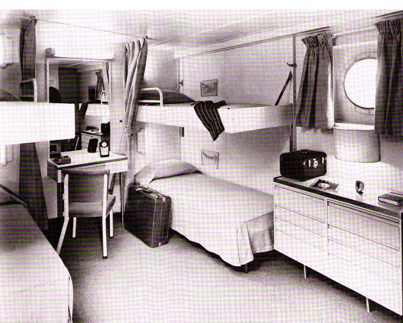 Ss atlantic american banner lines from a failed for First class cruise ship cabins