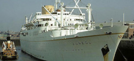 Mid-Century Liners: The M/V Aureol – Liverpool to West Africa
