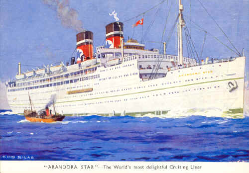 Cruise ship history blue star line s ss arandora star for High end cruise ships