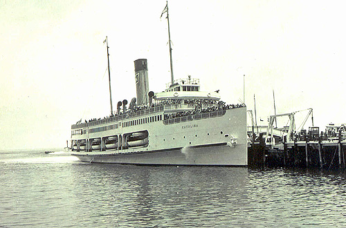 Cruise History The Ss Catalina Is Seaworthy No More The