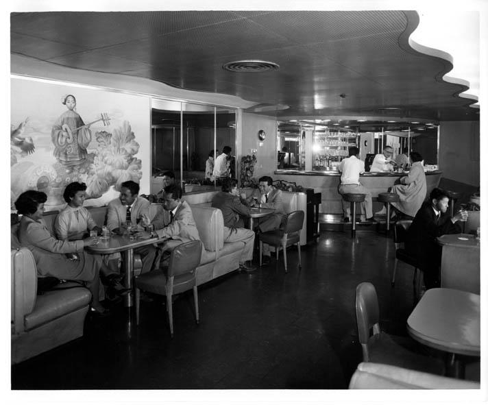 Cruise Ship History Menus By Eugene Savage Used On Matson