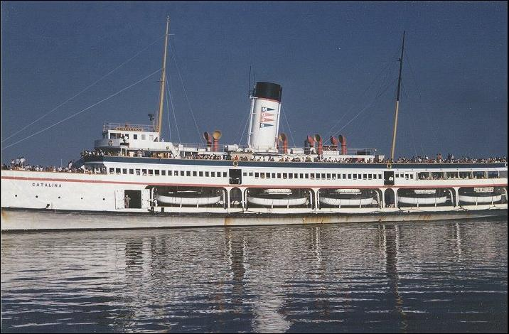 Cruise Line History SS CATALINA And SS AVALON  The Big