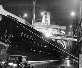Cruise History 1930s Home Movies Aboard The Liner Ss Bremen And Photos Of Famous Passengers