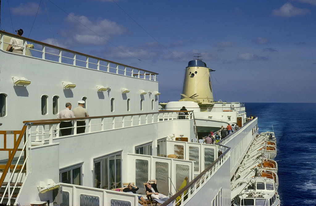 Cruising In The Late S Color Home Movies Aboard Home Lines - Homeric cruise ship