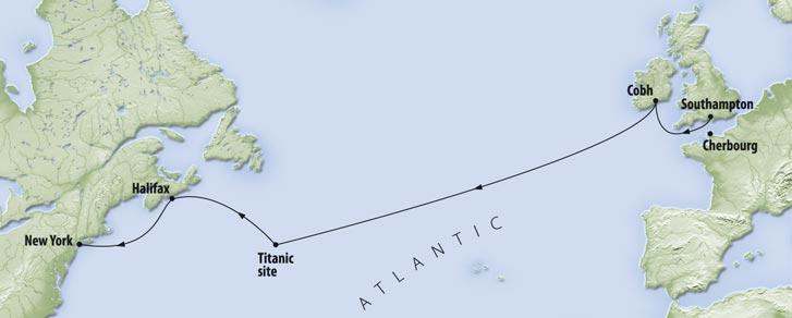 Rms Titanic Cruise To Mark Anniversary Of Ship S Fateful