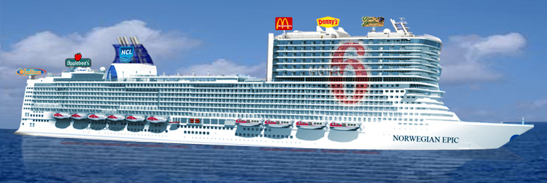 Norwegian Cruise Line S New Norwegian Epic To Accommodate Epic Size Americans And Feature