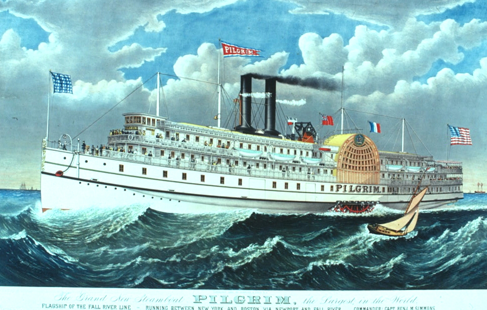 The old fall river line everyone from presidents to swindlers cruise history the old fall river line everyone from presidents to swindlers sailed the sound on mammoth palace steamers in the heyday of the side publicscrutiny Image collections