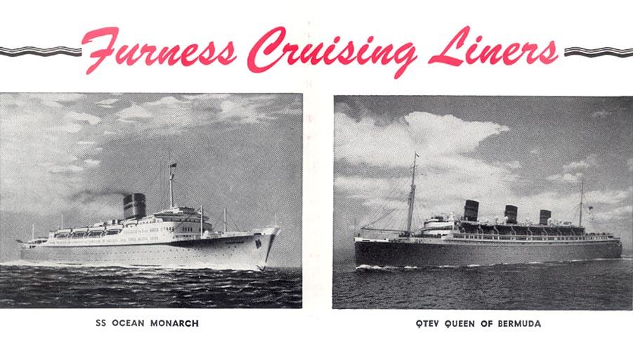 Queen Of Bermuda History Cruising Bermuda 1950s Retro