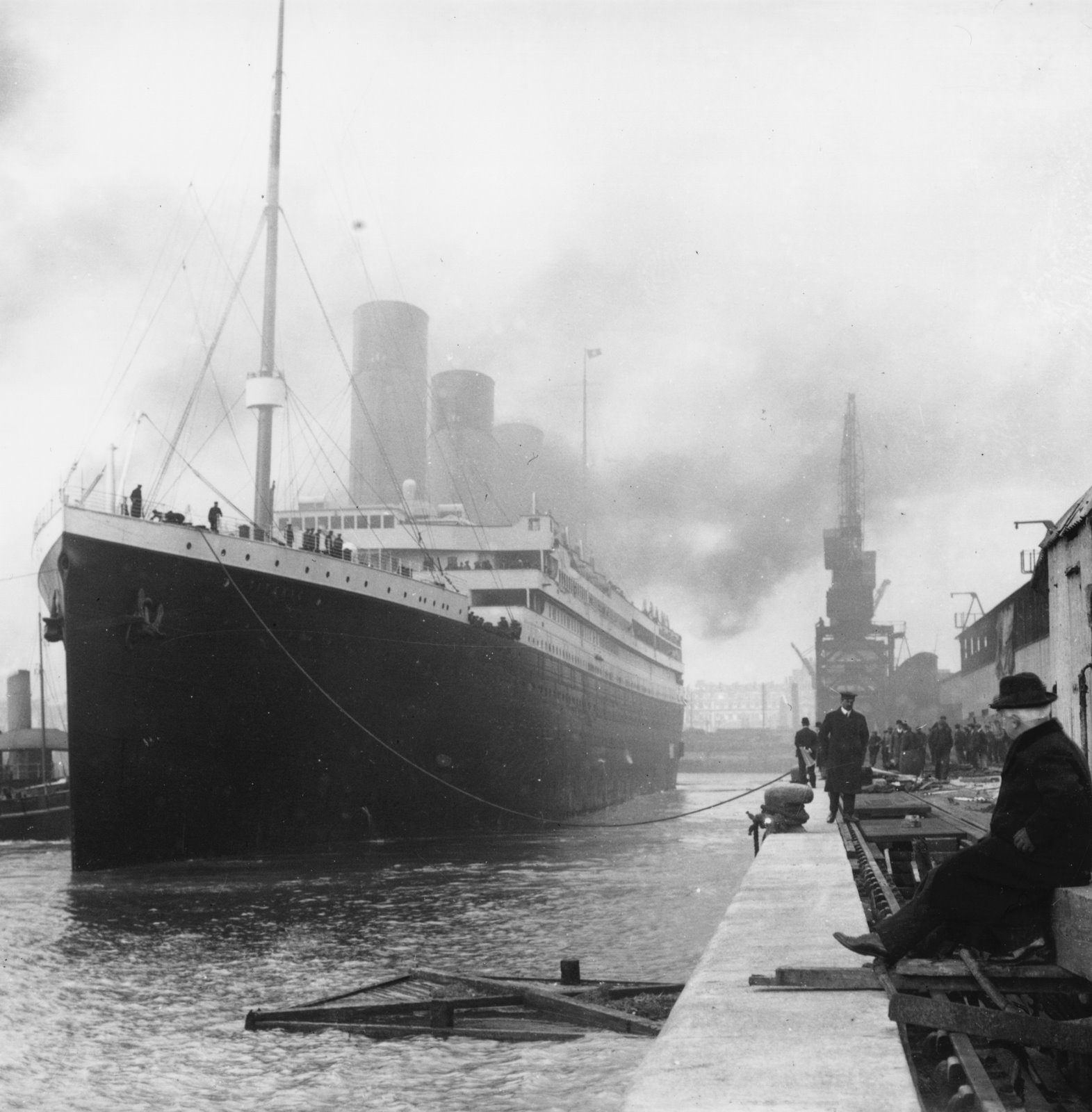 titanic history From the national museum of american history: when the ocean liner carpathia arrived at the spot in the north atlantic ocean where titanic sank, all the rescuers saw.