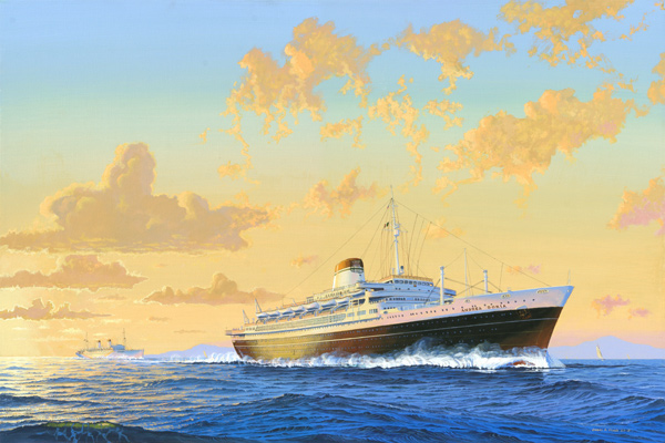 Cruising The Past And Cruise Ship History Features The