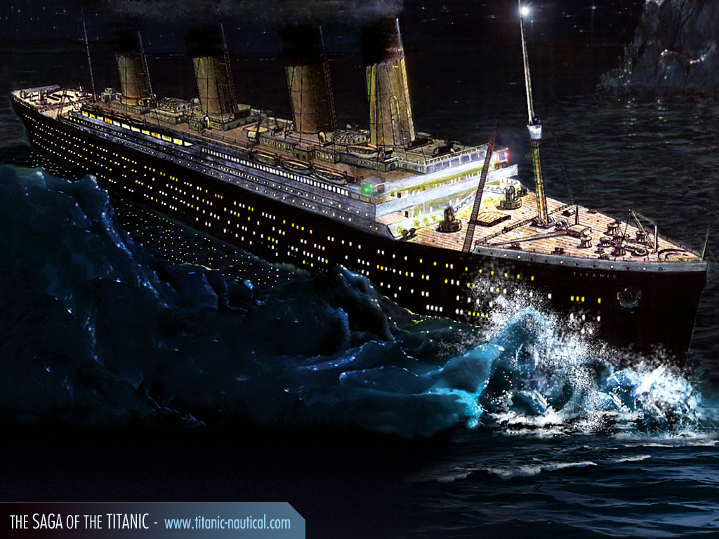 Sinking Of The Titanic And The Titan     Coincidence