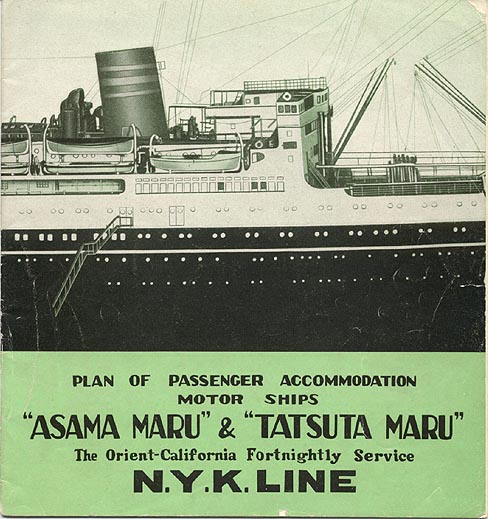 JAPAN'S FAMOUS LINERS – NYK LINES (Now Crystal Cruises