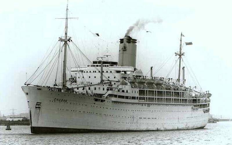 History Of P Amp O Lines To Be Aboard New Ship Cruising The