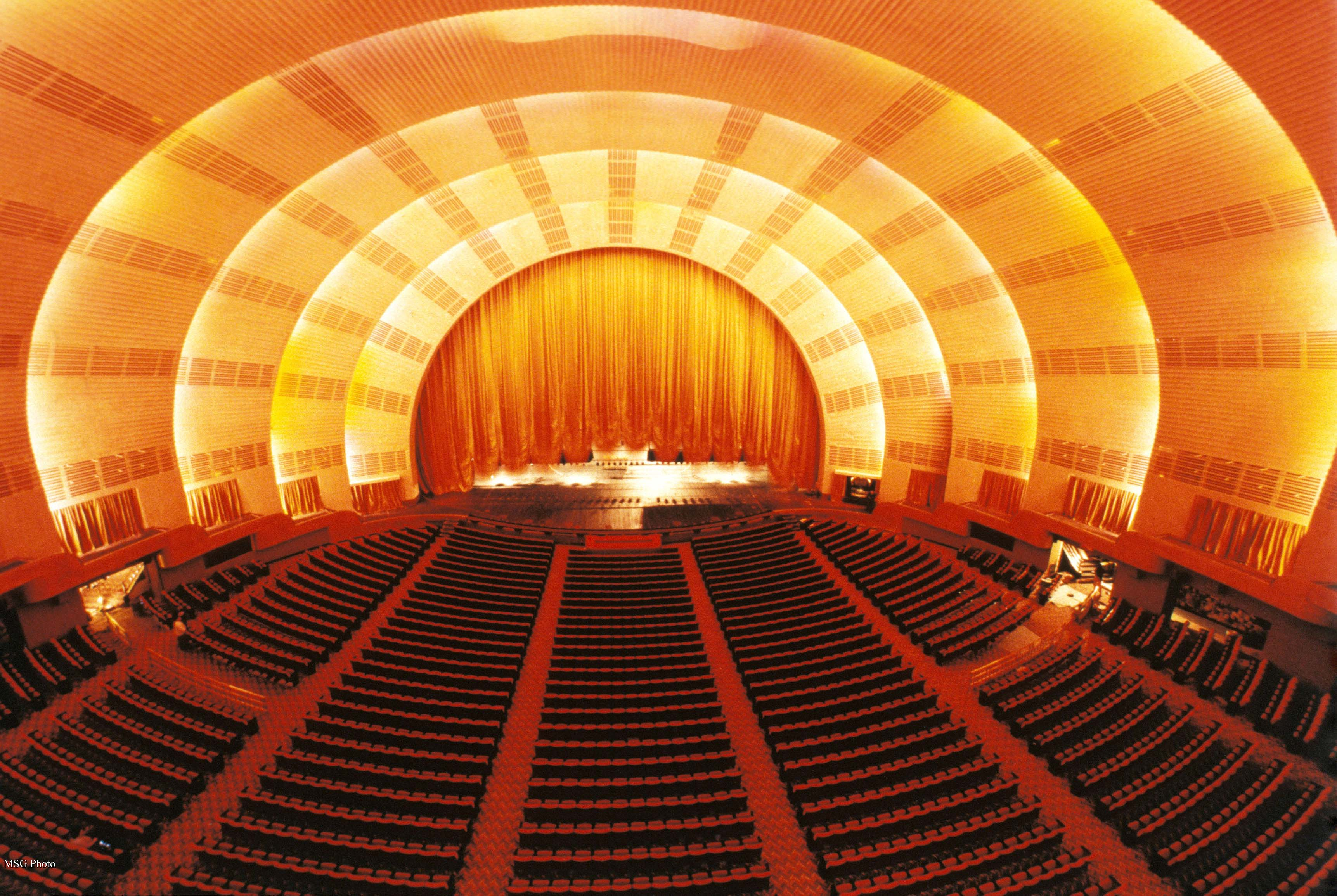 radio city music hall history art deco rockettes