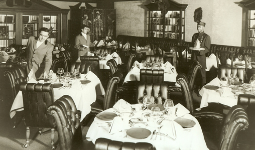 Great Hotels And Dining Rooms The Pump Room In Chicago S