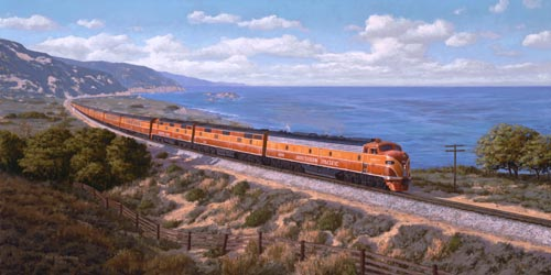 Southern Pacific S Coast Daylight Was America S Most