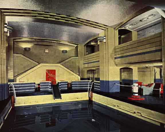 Famous liner rms queen mary is getting a long overdue - Queen mary swimming pool victoria ...