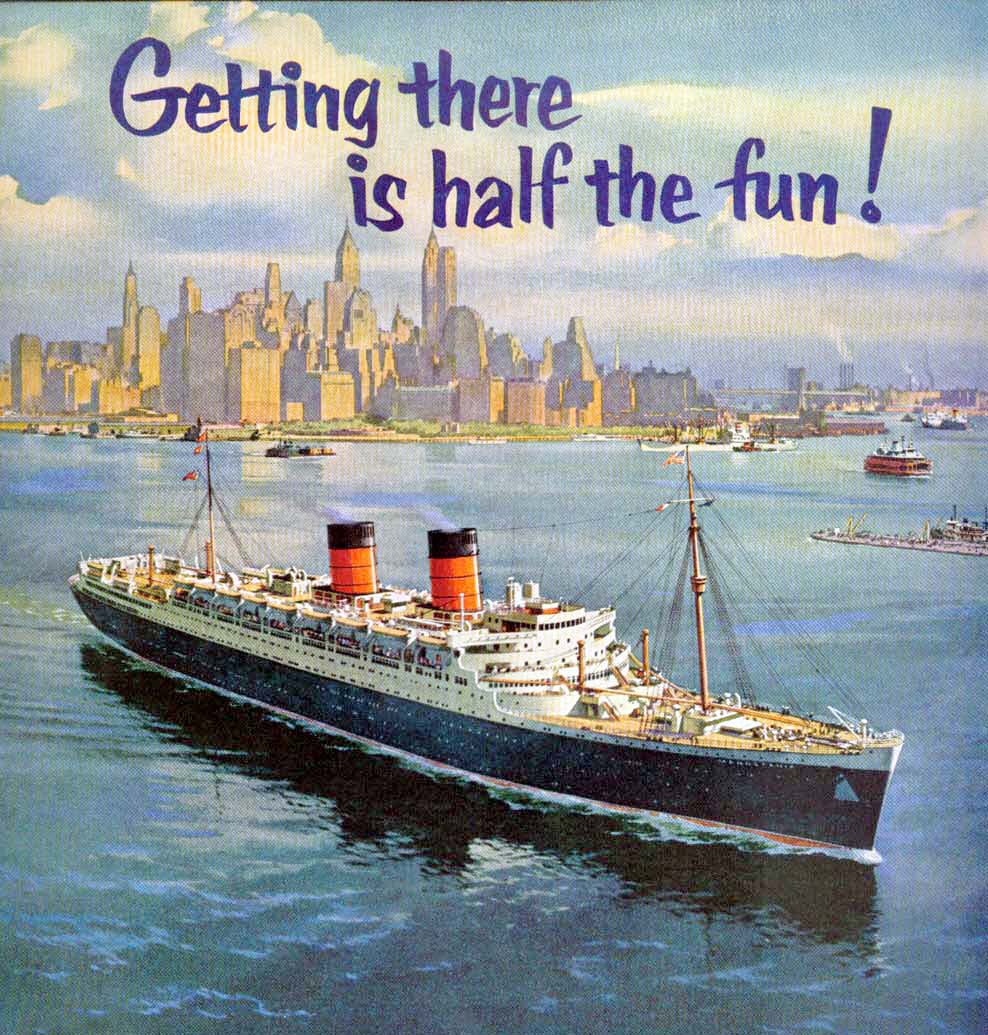 History of the cunard line cruising the past cunard pooptronica