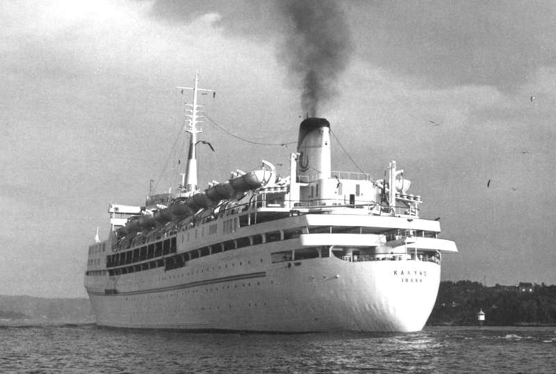 THE SHAW SAVILL LINE Sailing Around The World CRUISING THE PAST - First cruise ship in the world