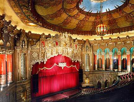 FOX THEATRE DETROIT… Location of the GOP Debates…