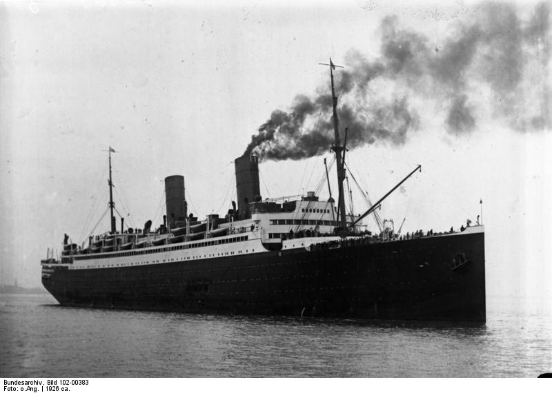 exclusive deals size 7 cheap 1937 SS Columbus of the North German Lloyd Ship Line ...
