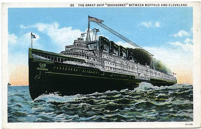 CRUISING THE GREAT LAKES IN THE S ABOARD THE STEAMER SEEANDBEE - Can you take a steamer on a cruise ship