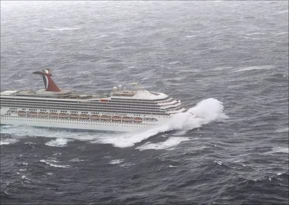 carnival cruise line and hurricane