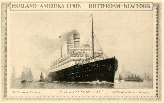 The Rotterdam Iv Holland America Line History Cruising