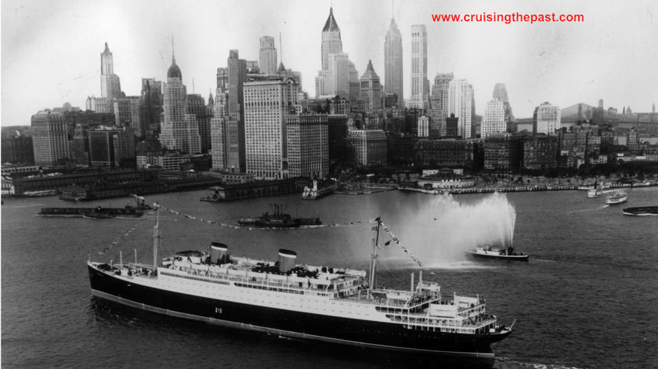 Cruise And Ocean Liner History The Golden Age Of Ocean