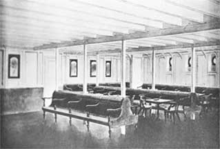 (General Room Left) The Titanic Provided The General Room, Where Steerage  Passengers Could Sit, Read, Play Cards, And Otherwise Pass The Time. Part 57