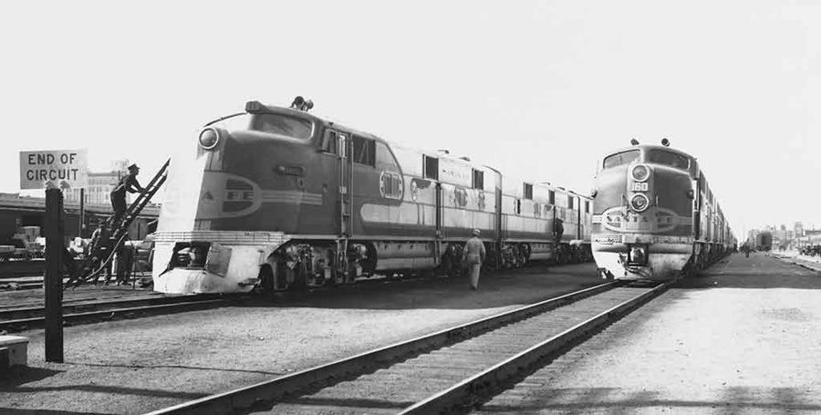 Albuquerque To Santa Fe >> pullman history,streamliners, streamliner history, trains | CRUISING THE PAST