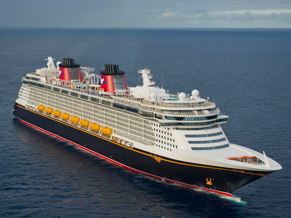 WALT DISNEY  PAST MEETS FUTURE IN THE NEW DISNEY FANTASY
