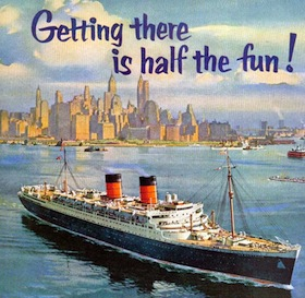 THE GREAT CUNARD LINER RMS MAURETANIA OF 1939