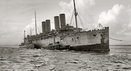 GHOST SHIPS – THE MYSTERIOUS ABANDONED SEA VESSELS AND GHOSTLIKE PASSENGER SHIPS…