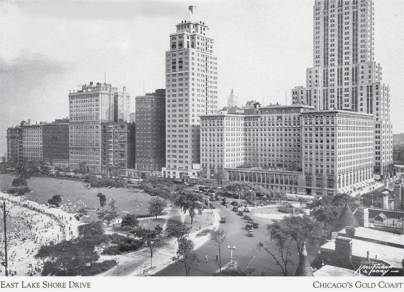Social history 1940s promotional film shows chicago from for Gold coast chicago hotels