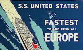 SS UNITED STATES – The last American liner still afloat.  But for how long?