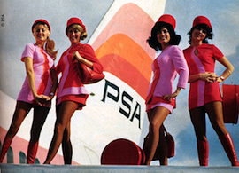 The Flight Attendant and MAD MEN TV…from PAN AM to PSA…