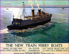 "THE ""NIGHT FERRY"" car"