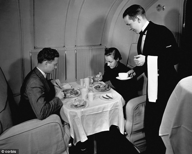 First Class Air Travel Then And Now Cruising The Past