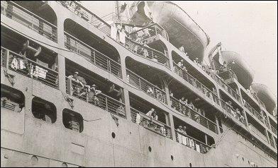 The RMS Empress of Japan at war...