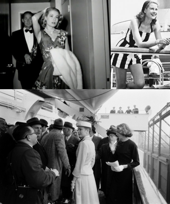 Grace Kelly on the SS Constitution... www.cruisingthepast.com