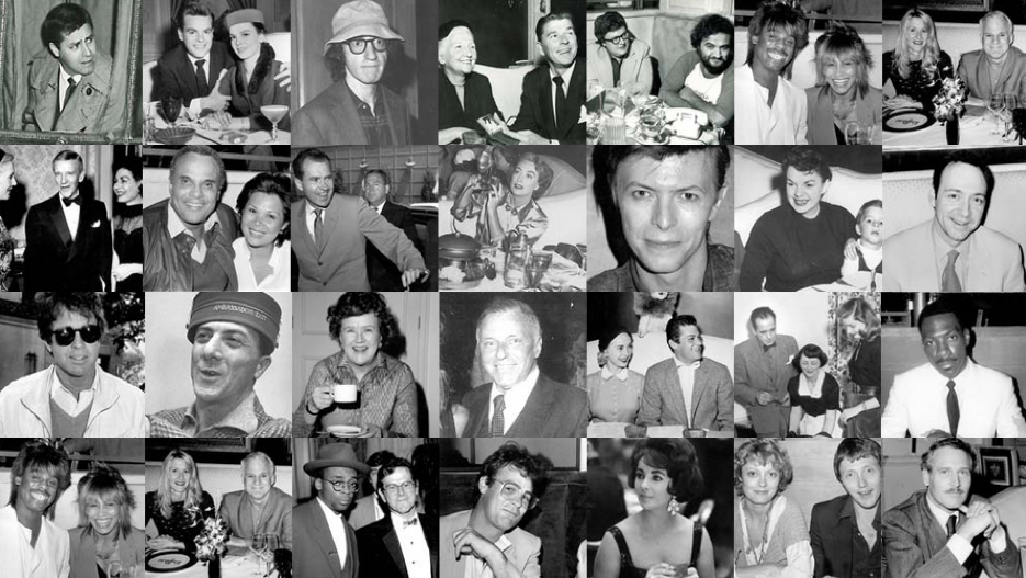 Celebrities and politicians at the Pump Room - from the 1930s until the 1980s. www.cruisingthepast.com