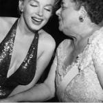 Elsa Maxwell with Marilyn Monroe.