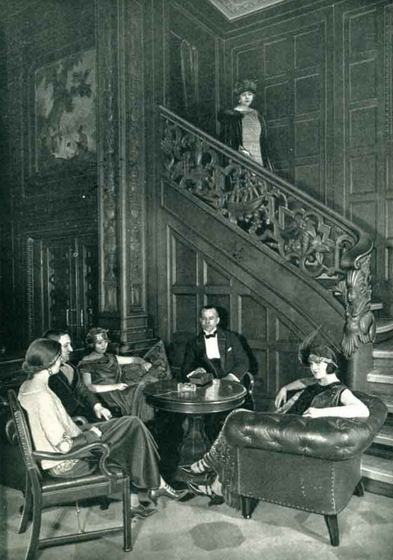 First Class Lounge - Columbus 1920s.