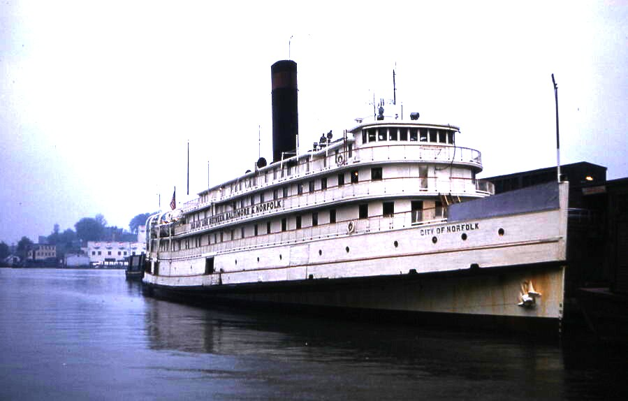 SS City of Norfolk -  The Old Bay Line