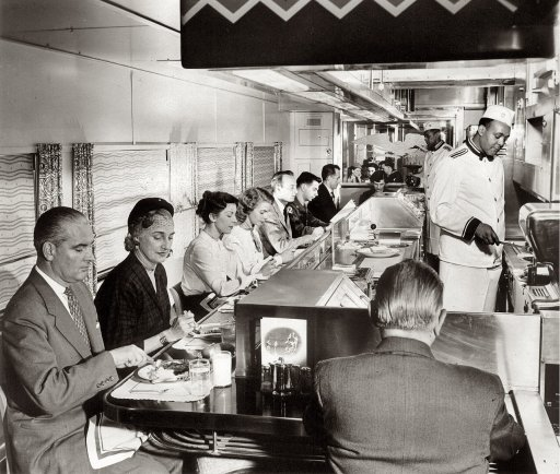 PRR Dining Car 1940s
