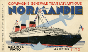 THE LEGENDARY SS NORMANDIE…