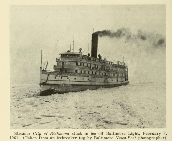 "The famed SS Exodus was originally built in 1911 for Chesapeake Steamship Company, but she became best known as the luxurious night boat, the SS President Warfield for the ""Baltimore Steam Packet Co's (Old Bay Line) that operated an overnight service between Baltimore and Norfolk."