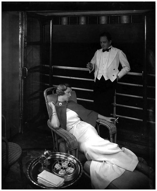 First Class cruising in the 1930s...