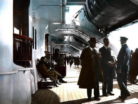 "RMS Queen of Bermuda - the ""Millionaires cruise ship"""